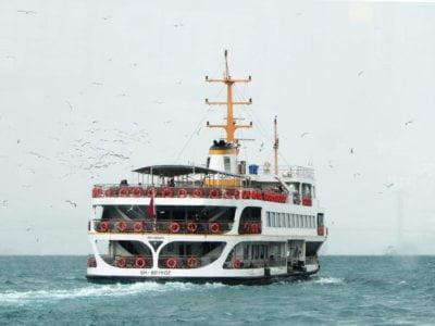 Водный транспорт Стамбула (паром, вапур, морской автобус)