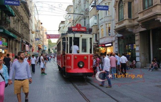 Район Таксим в Стамбуле