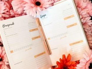 Планнеры NATBEL — ежедневники для планирования жизни