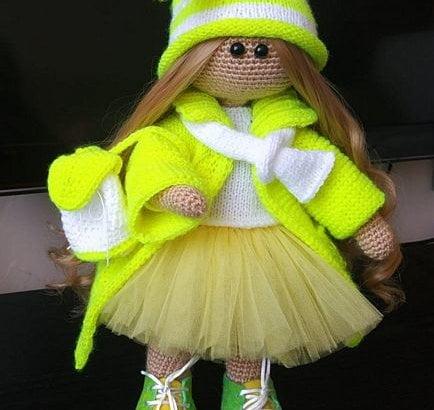 Интерьерные куклы и игрушки ручной работы