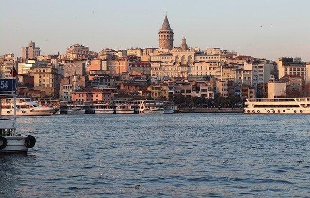 Мой маршрут по Стамбулу в первый день без карантина
