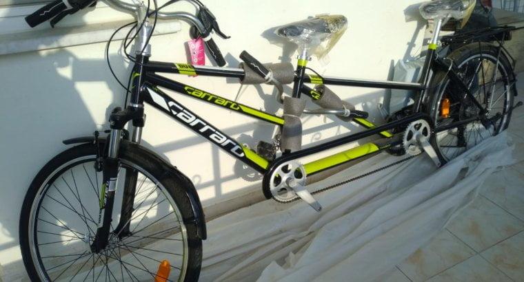 Новый велосипед-тандем
