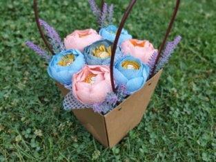 Подарки ручной работы (букеты с конфетами)
