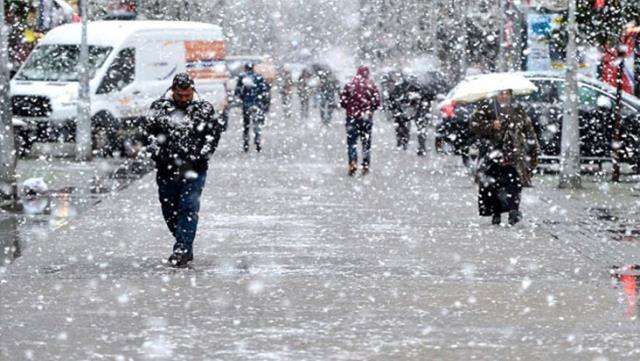 Предупреждение от метеорологов: в трёх провинциях ожидается снег