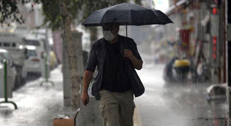 В Стамбул идёт долгожданный дождь