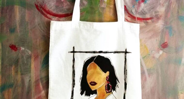 Роспись одежды, сумок