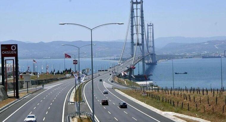 Новые тарифы на проезд для мостов в Стамбуле