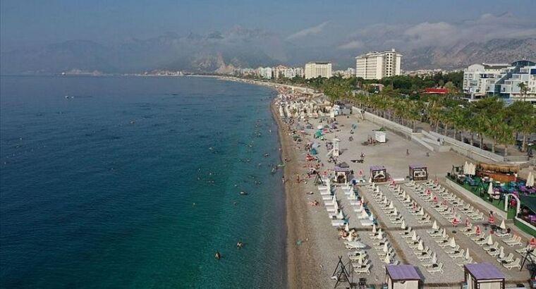 Анталью с начала года посетили почти 2,5 млн иностранных туристов