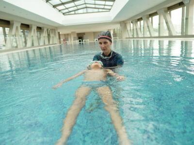 Индивидуальное обучение плаванию детей и взрослых